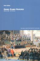 Genel Kamu Hukuku (18.-20.yüzyıl)